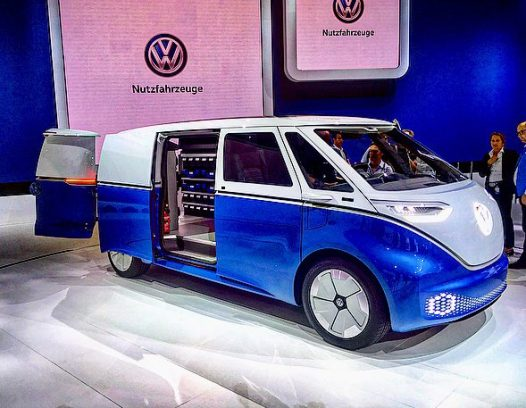VW ID BUZZ Cargo 1