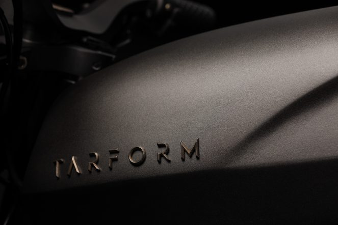 Launching Tarform Motorcycles