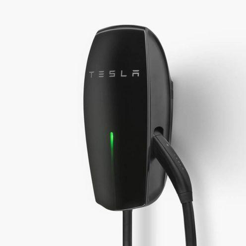 Tesla Gloss Black Wall Connector 2