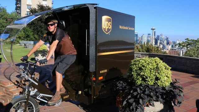 ups electric cargo tricycle