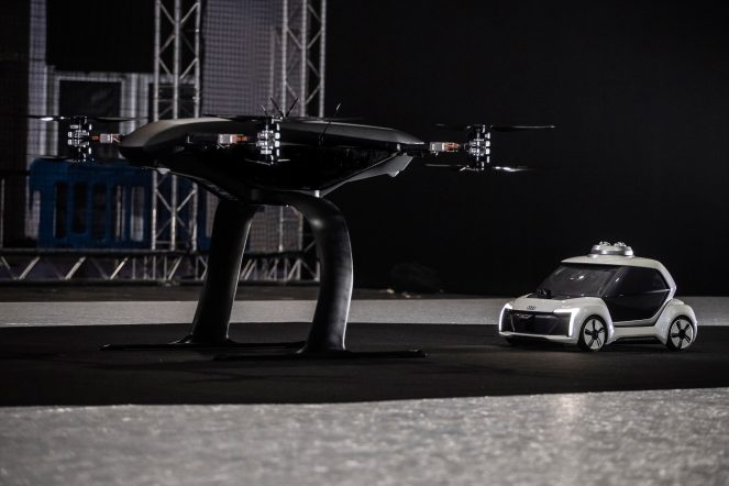 Audi, Airbus and Italdesign test the flying taxi concept