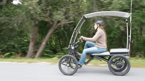 Screecher electric pedal car is an affordable 4-wheeled