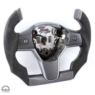 Tesla Model 3 Roadster steering wheel 1