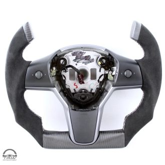 Tesla Model 3 Roadster steering wheel 2