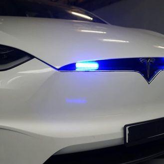 Tesla Model X police vehicle 7