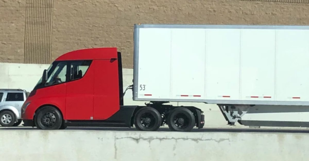 Tesla prepares to use its new electric semi-trucks between Fremont and Giga Nevada - Electrek