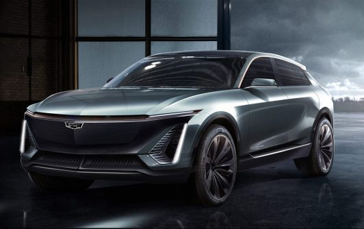 GM Cadillac electric vehicle