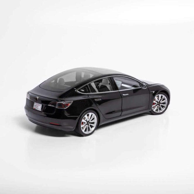 Model 3 die cast rear side view