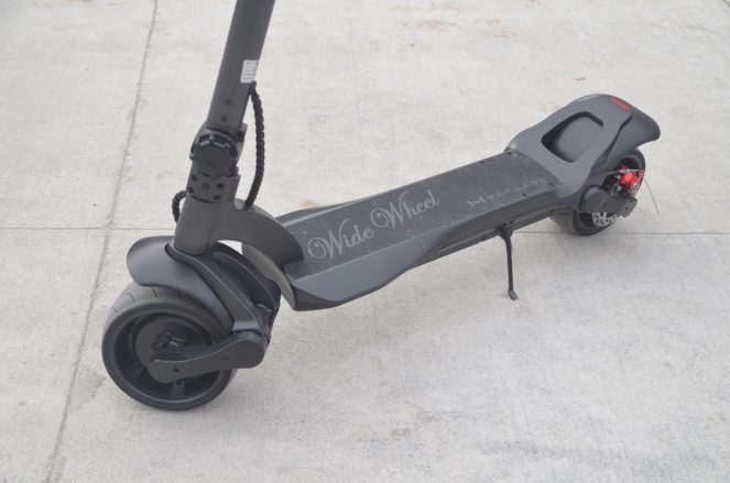 widewheel electric scooter