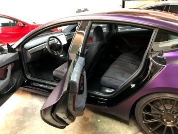 Tesla Model 3 Purple 10