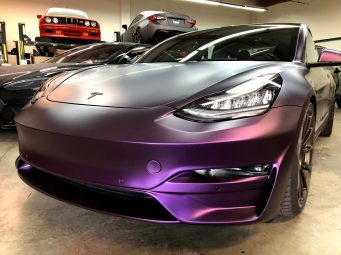 Tesla Model 3 Purple 4