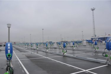 Tesla Model 3 zeebruge port 3