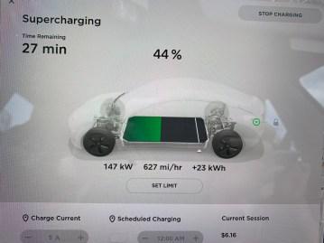 Tesla Supercharger v2 145kw
