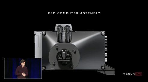 Tesla Full Self-driving computer