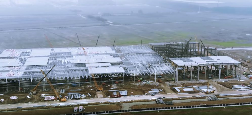 Tesla Gigafactory update may 3