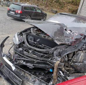 Tesla Model S crash Autopilot 3