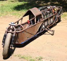 electric motorcycle streamliner