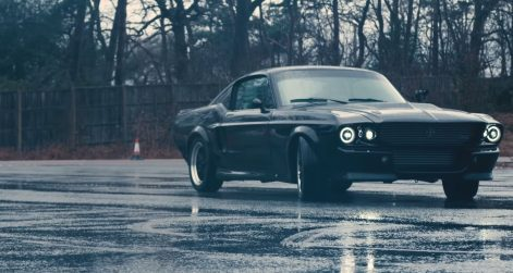 Charge Electric Mustang 1