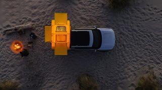 Riivian r1t electric pickupt. truck camper 5