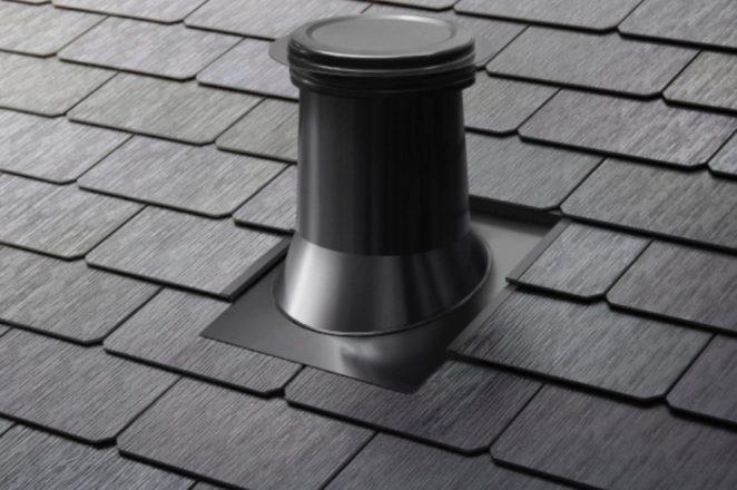 Tesla Solar roof vent