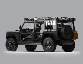 Bollinger custom electric truck 2
