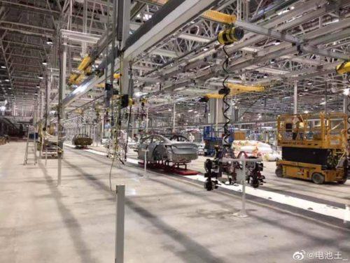 Tesla Gigafactory 3 leaked image 2
