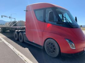 Tesla SEmi electric truck range test 4