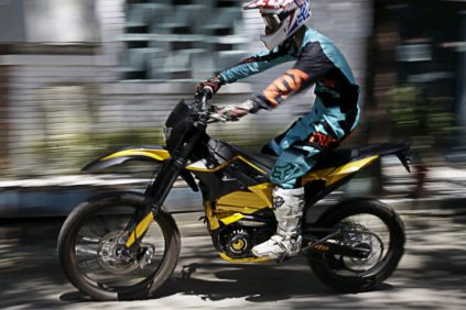 sur ron boom bee electric motorcycle