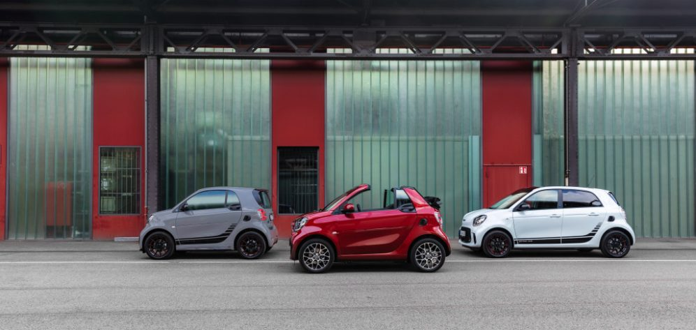 Die neue Generation: smart EQ fortwo und forfourThe new generation: smart EQ fortwo and forfour
