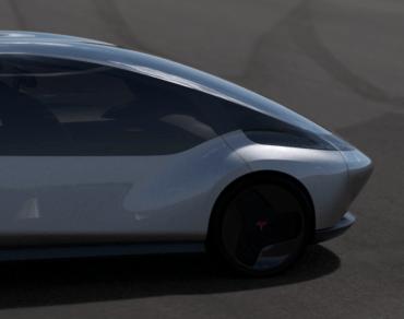 Tesla model zero front end