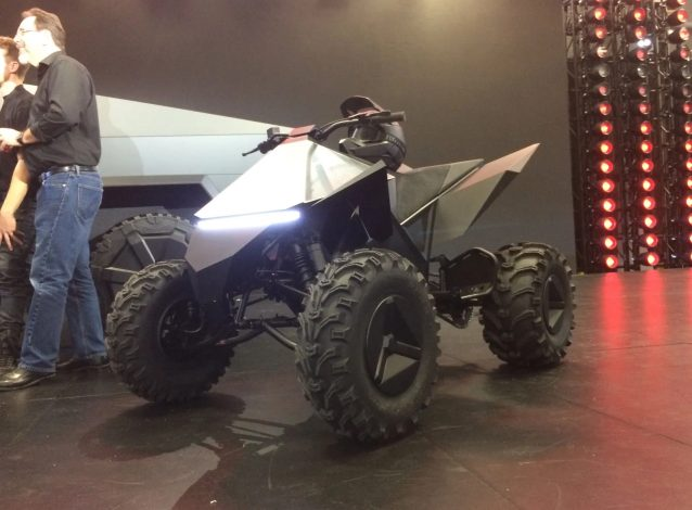 Tesla Cyberquad electric ATV1