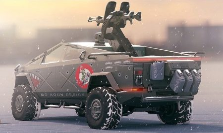 Tesla Cybertruck Warthog 2