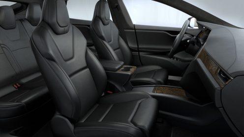 Tesla mOdel S old seats