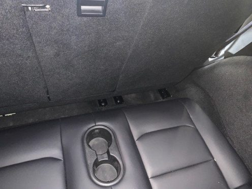 Cars With Third Row Seating >> Pictures surface of Tesla Model Y third-row seats, and they don't look large - Electrek