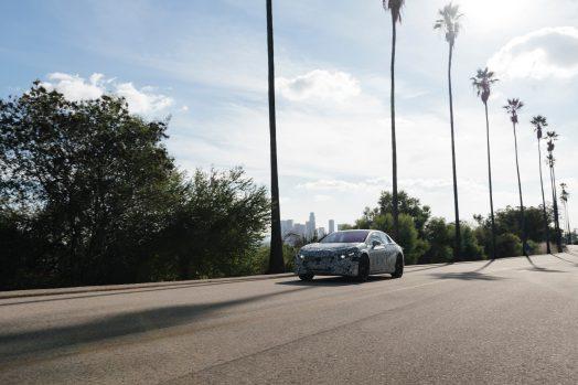 Mercedes-Benz, Vision EQS photo shoot Los Angeles January 2020
