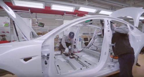 Tesla Gigafactory 3 body