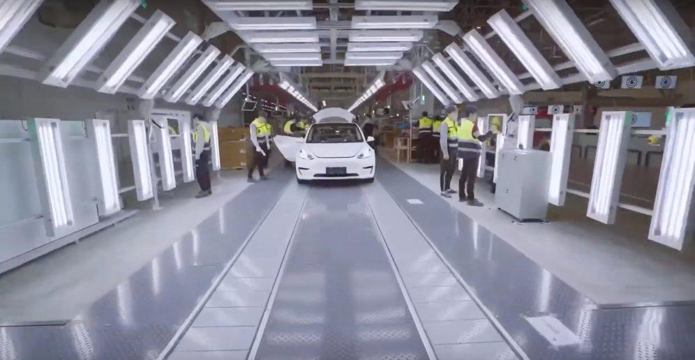 Tesla Gigafactory 3 inspection 3