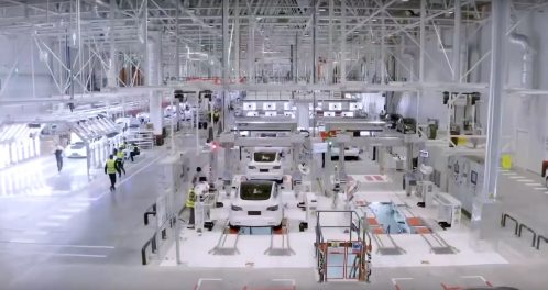 Tesla Gigafactory 3 inspection