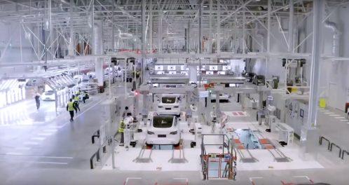 Tesla Gigafactory 3 inspection
