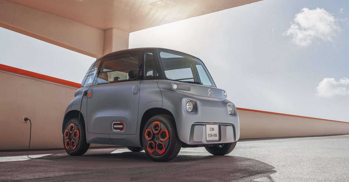 photo of Citroën's small $6,000 electric 'car' is coming to the US as part of new subscription service image