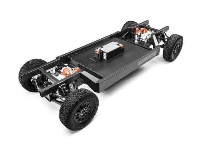 Bollinger Motors Patent-Pending E Chassis 3 4 High
