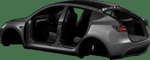 Tesla Model Y render asset 3