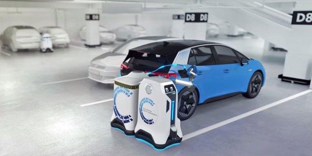 VW robot butler