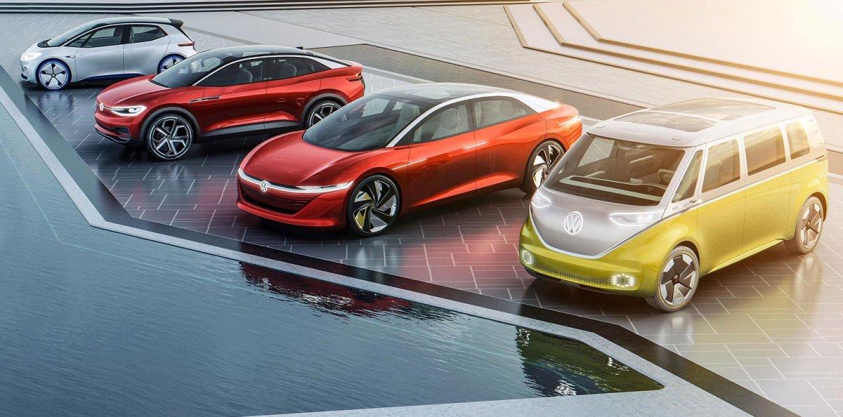Volkswagen's growing ev lineup