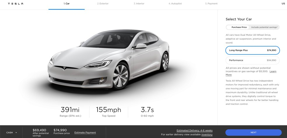 Tesla cuts prices across lineup, Model 3 now starts at ...