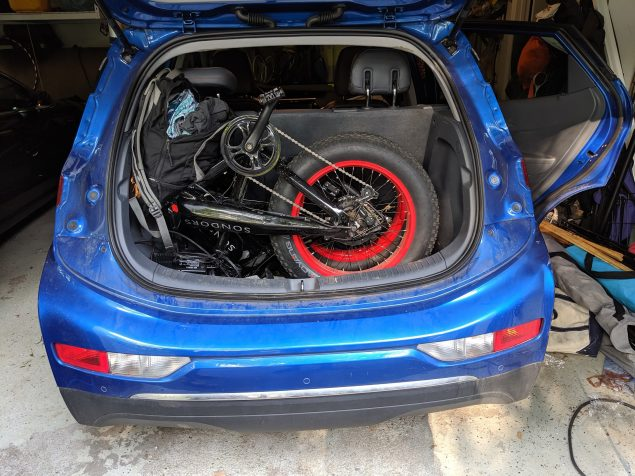 Chevy Bolt-trunk space