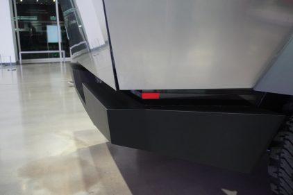 Tesla Cybertruck rear bumper