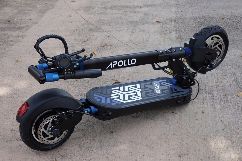 apollo explore electric scooter