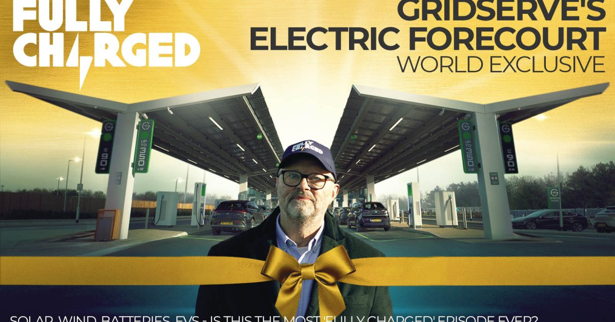 GRIDSERVE's solar electric DC fast charging Forecourt world exclusive - Electrek