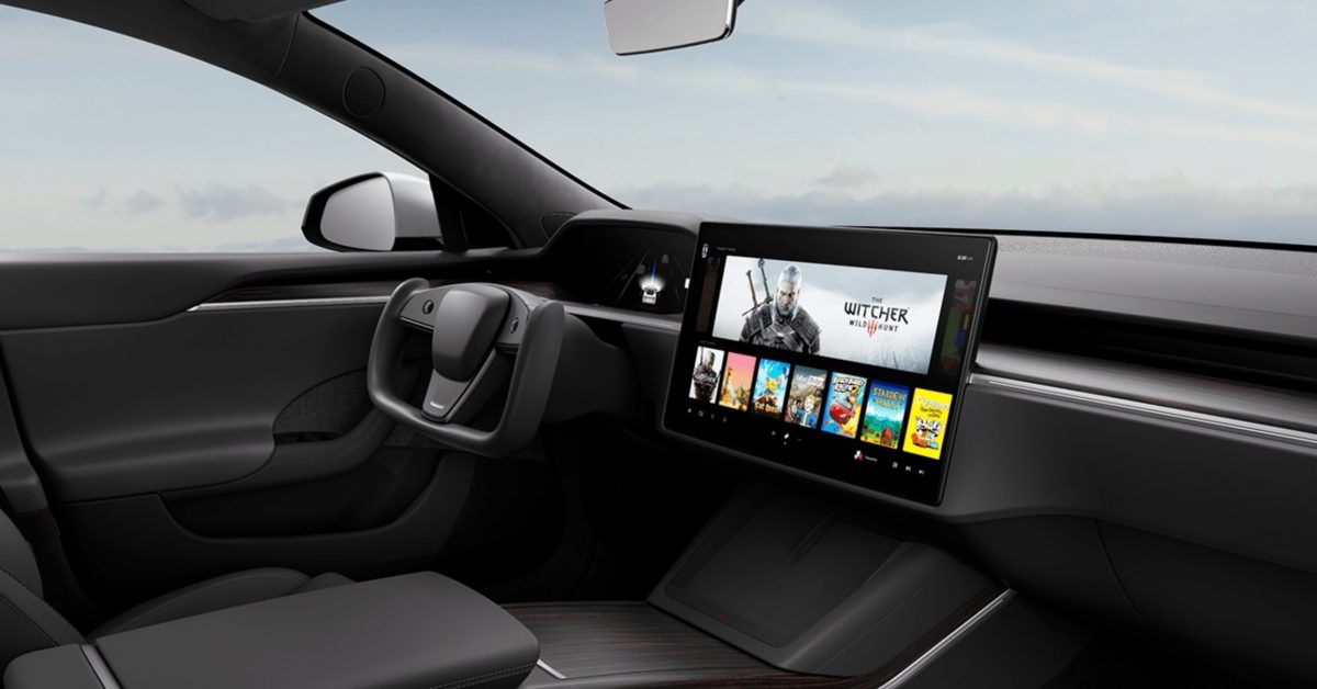 Tesla unveils new Model S with new interior, crazy steering wheel, and more - Electrek